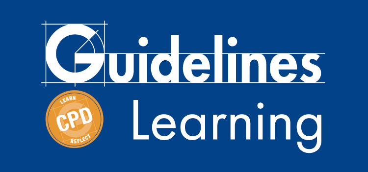 Guidelines Learning logo blue